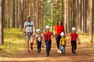 Alutaguse Seikluspark perega ronimine