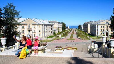 Sillamäe linna Mere pst promenaad
