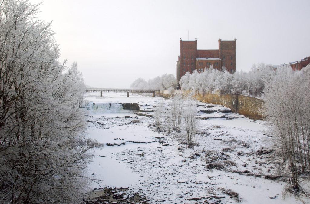 Kreenholmi manufaktuur  talvel