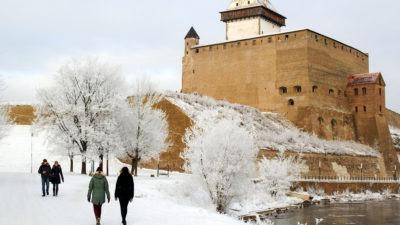 Talvine Narva linnus