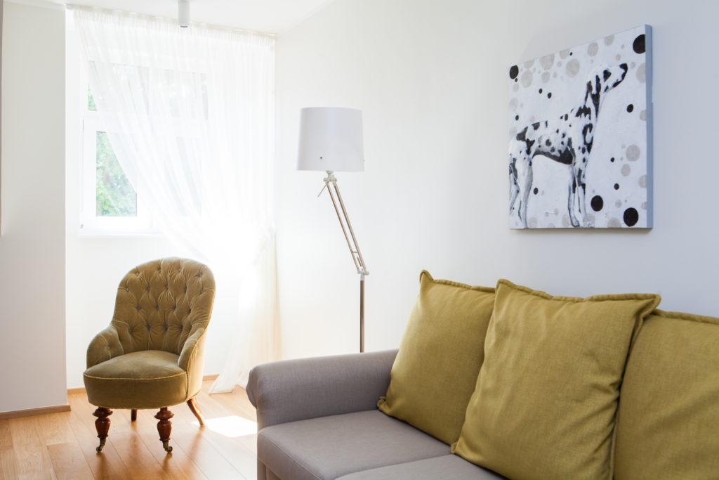 Toila Valgevilla apartamendi elutuba