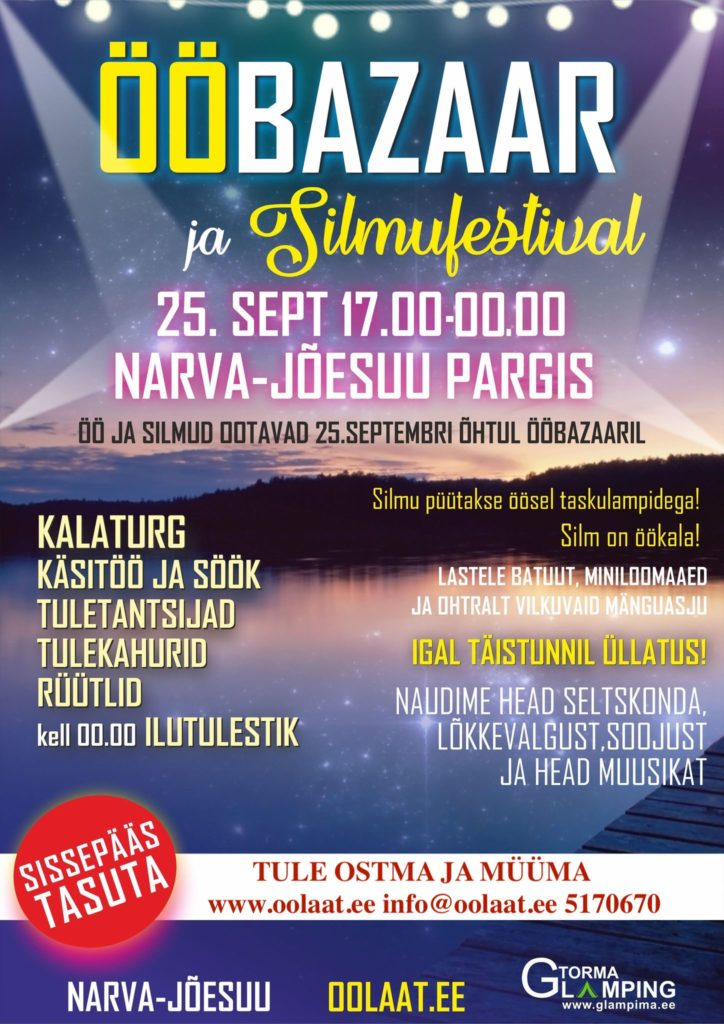 Narva Jõesuu silmufestival